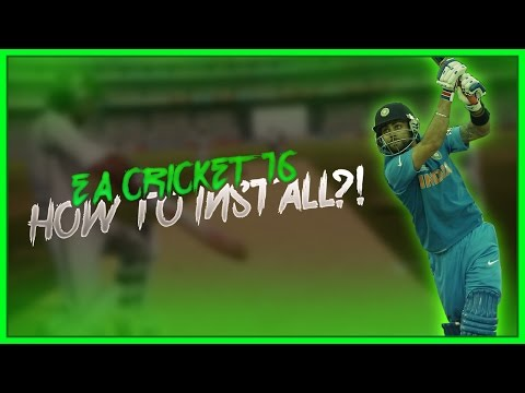 How to Download & Install EA Sports Cricket 2016 Patch for Cricket07 PC Game [Guide]