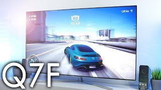 SAMSUNG Q7F 55 Zoll - Test Gaming UHD 4K HDR - Deutsch