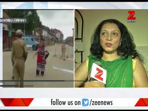 Woman shares why she chanted 'Bharat Mata Ki Jai' in Srinagar on Independence Day