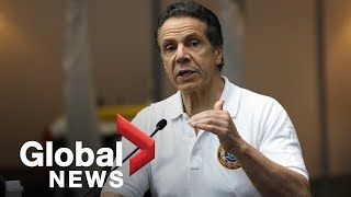 Coronavirus outbreak: Cuomo says peak of curve will likely come at end of April in New York | FULL