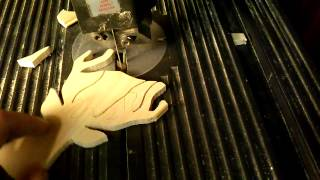 Cutting Out Xmas Ornaments With The Bandsaw