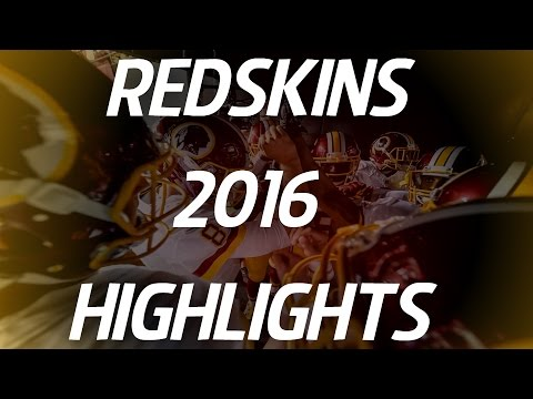 Washington Redskins 2016 Highlights