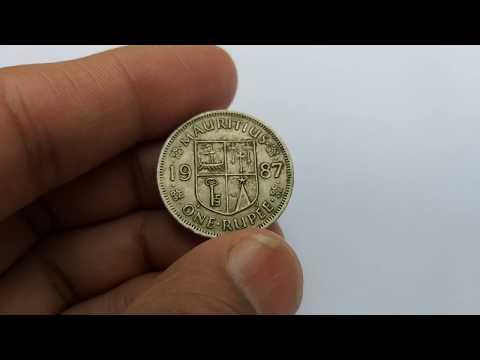 Rare Mauritius 1 Rupee Coin || Rare Foreign Coins || Rare World Coins || Rare Mauritius Coins