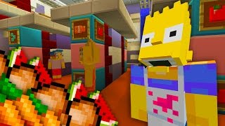 Video Bart Simpson Gets a New Job | The Simpsons | Minecraft Xbox [41] download MP3, 3GP, MP4, WEBM, AVI, FLV Mei 2018