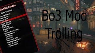 Bo3 Zombies mod menu trolling *SECRET ROOMS FOUND*