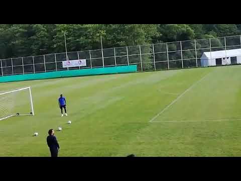 Adana Demirspor Mario Balotelli İlk idman şut çalışması