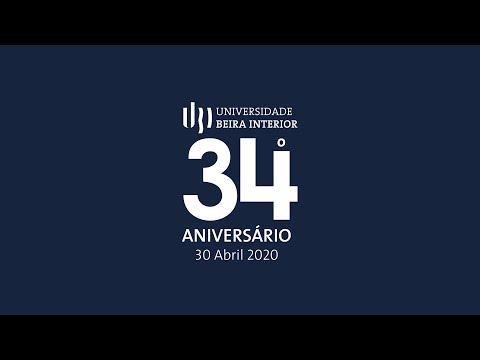 34º Aniversário UBI - Intervenção do Reitor