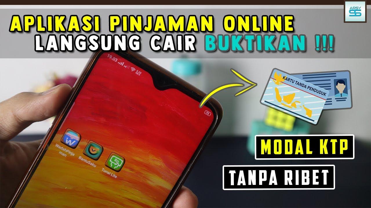 3 Aplikasi Pinjaman Online Langsung Cair Hanya Menggunakan Ktp