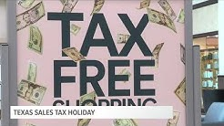 Texas Sales Tax Holiday This Weekend