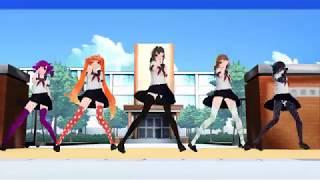 Download Lagu 【MMD】 On The Floor【Osana Ayano Kokona Amai Oka】 mp3