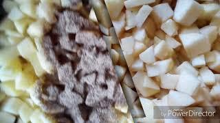 Пирог яблочное кольцо.Как приготовить очень вкусный пирог с яблоками.