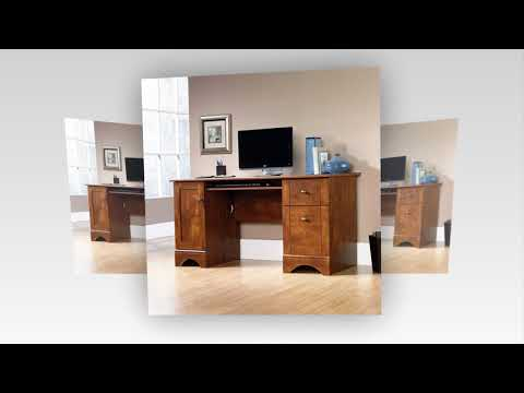 Sauder Computer Desk Brushed Maple Finish You