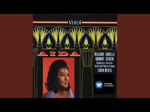 Aida, Act I, Scene 2: Sacred Dance Of The Priestesses... Immenso Fthà... Mortal, Diletto Ai...