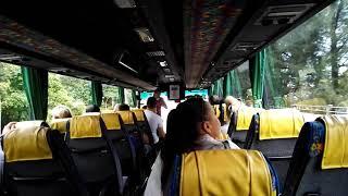 Сингапур. Видео из автобуса сразу после таможни.