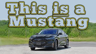 homepage tile video photo for 2021 Mustang Mach-E: Regular Car Reviews