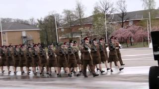 Passing Out Parade- Pirbright 27 April 2012