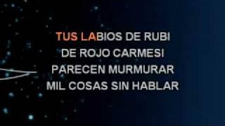 Sandro Porque yo te amo Karaoke ByCesar