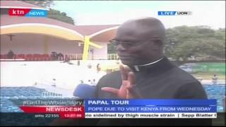 Father Charles Kinyua on preparations for Pope Francis