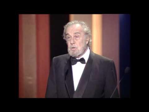 Discurso de Fernando Rey en los Premios Goya 1993