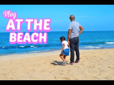 A day at the beach in Namibia - Road Trip Day 7 || Mommy and Baby Approved || SA Vlogger