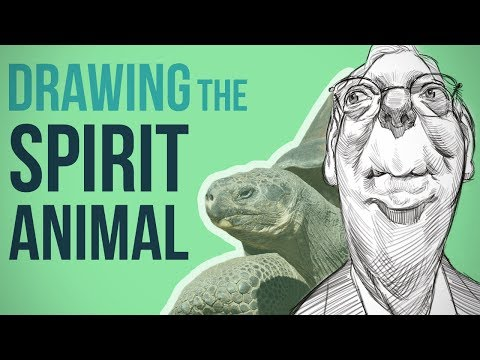 Finding and Using a Spirit Animal to Draw the Face
