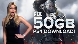 witcher 3 s huge ps4 download halo patch delay ign daily fix