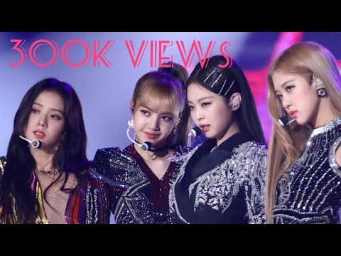 300 Blinks fanchant for blackpink
