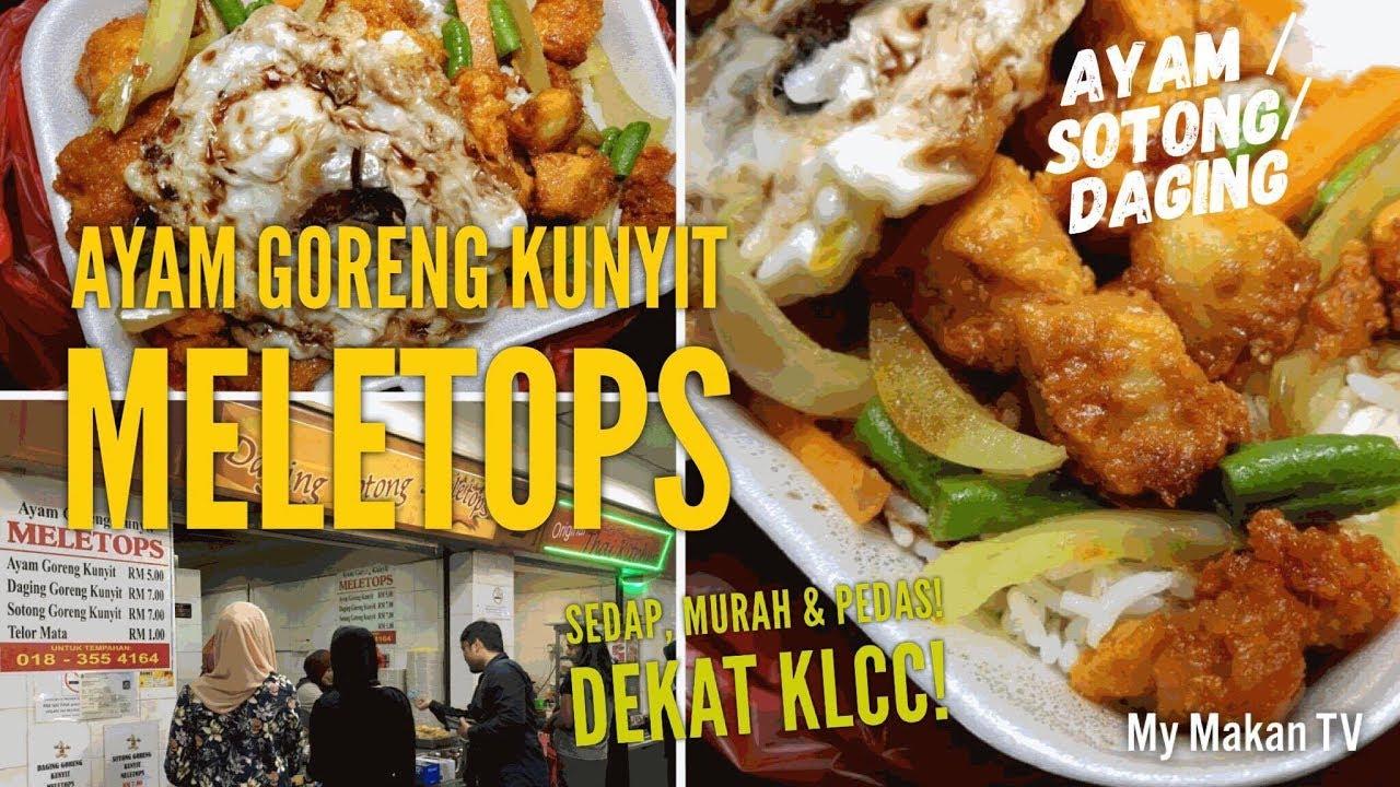 Ayam Goreng Kunyit Meletops At Pnb Darby Park Food Court Klcc Youtube