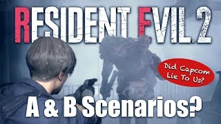 Resident Evil 2 Remake A and B Scenario Theory - Did Capcom Lie To Us?