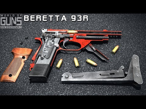 How does Beretta 93r work? (burst mode is included)