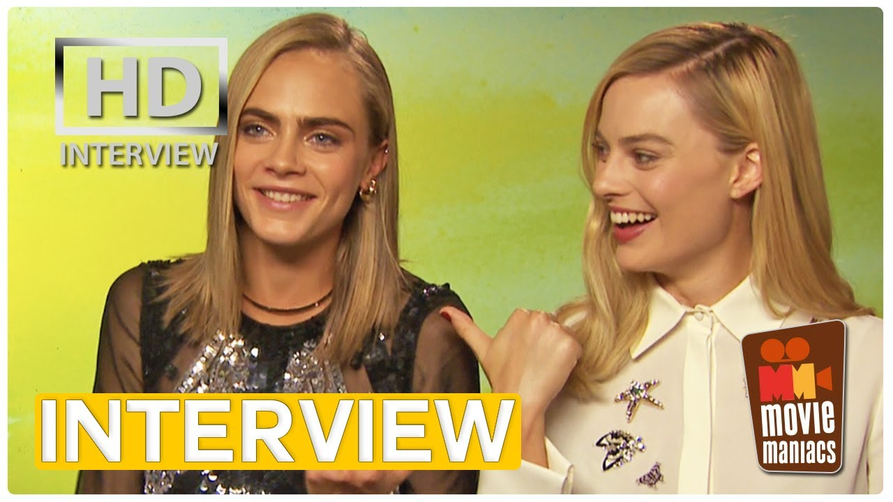 suicide squad stars on their most attractive member exclusive suicide squad stars on their most attractive member exclusive interview