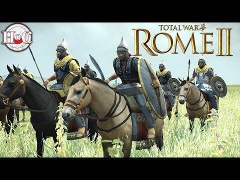 Masaesyli vs Kush - Total War Rome 2 Online Battle Video 402 |