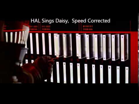 HAL Sings Daisy At Normal Speed