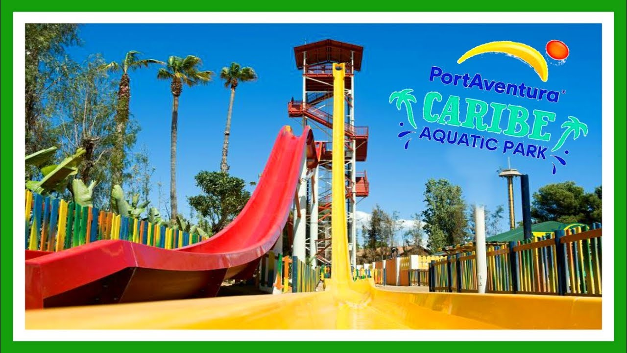Mapa Port Aventura 2019.Costa Caribe Aquatic Park 2019 Port Aventura World Salou Espana