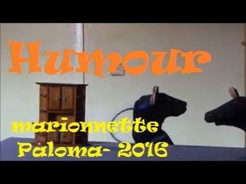 Marionnette PALOMA: année bi-sexe-style -  rire 2016