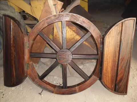 Muebles r sticos de madera youtube - Muebles de madera rusticos ...