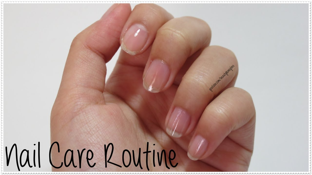 Nail Care Routine | Make Your Uneven Nails Looks Good - YouTube