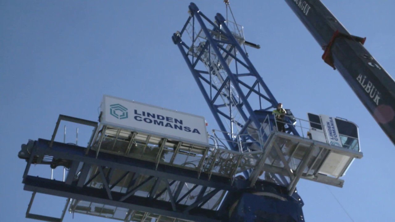 LCL700 luffing-jib tower crane by COMANSA
