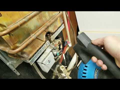 Bosch Aqua Star Tankless Water Heater Fix Youtube