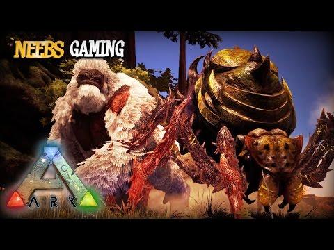 Ark: Survival Evolved - Double Boss Fight!!!