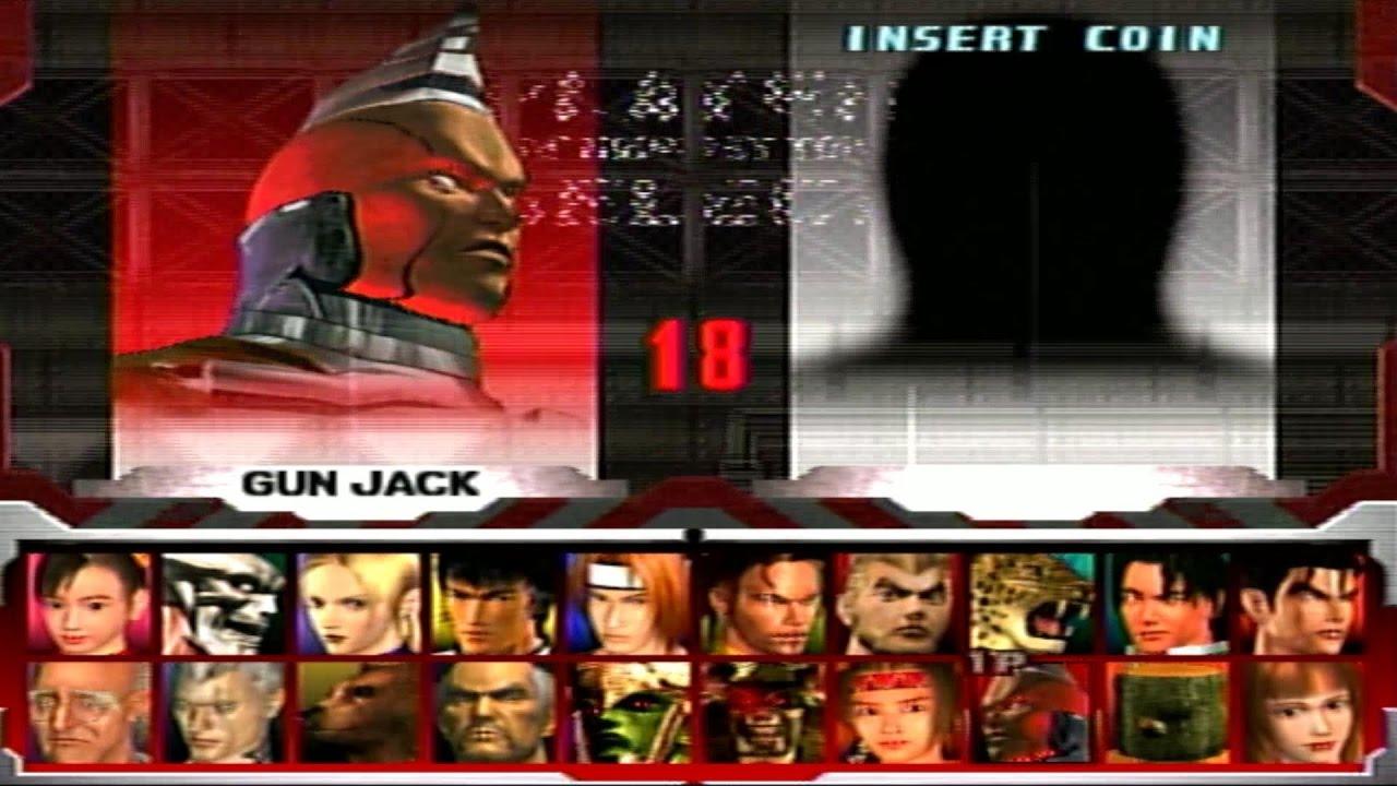Tekken 3 Gun Jack Youtube