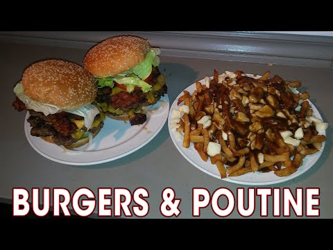 BURGERS and POUTINE Challenge near OTTAWA!!