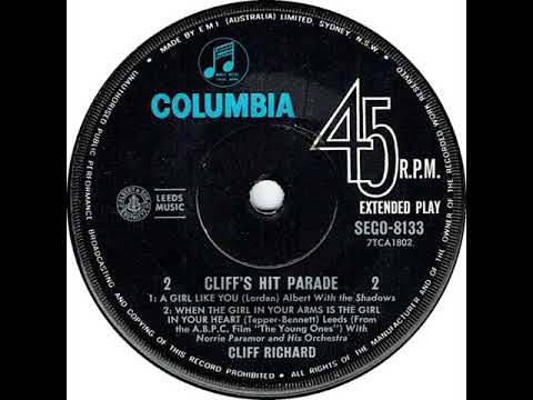 Cliff Richard (Australian EP) August 1962