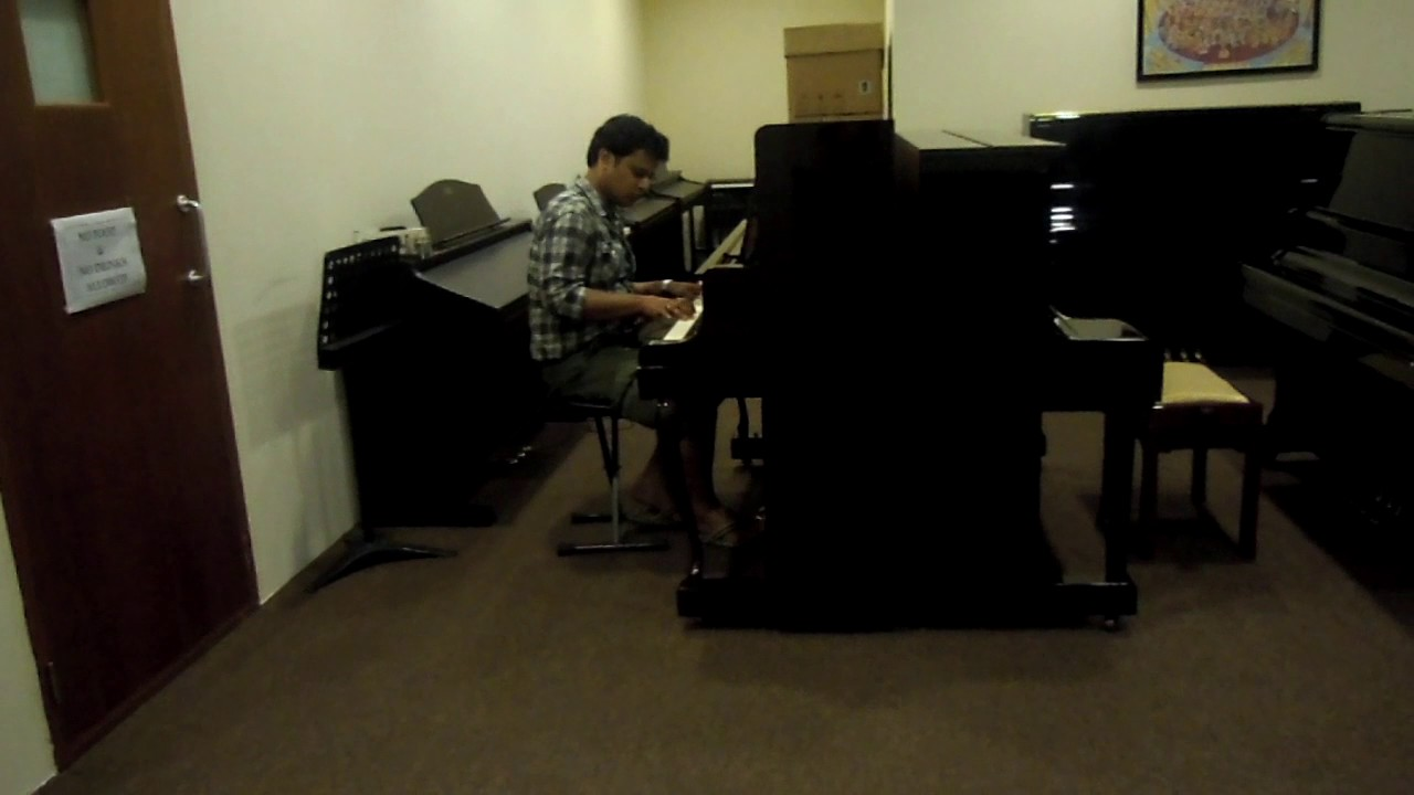 checking out a piano at a store near novena square at singapore youtube. Black Bedroom Furniture Sets. Home Design Ideas