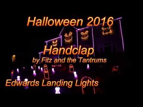 Halloween Light Show 2016  Handclap  Fitz and the Tantrums