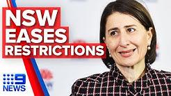 Coronavirus: NSW Premier on easing travel, recreation restrictions | Nine News Australia