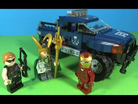 LEGO IRON MAN Loki's cosmic cube escape 6867