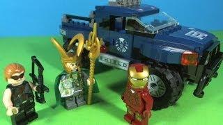 LEGO IRON MAN Loki's cosmic cube escape 6867
