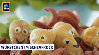 Lustiges Kinderessen mit Würstchen – Kochbox