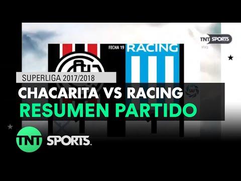 Resumen de Chacarita vs Racing (1-1) | Fecha 19 - Superliga Argentina 2017/2018